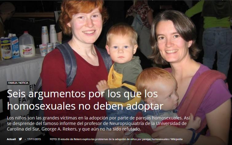 La primera iglesia cristiana homosexual parenting